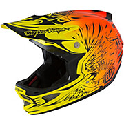 Troy Lee Designs D3 Composite MIPS - Ravage Orange 2016
